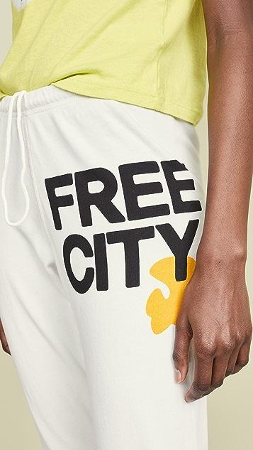 FREECITY Logo Sweatpants