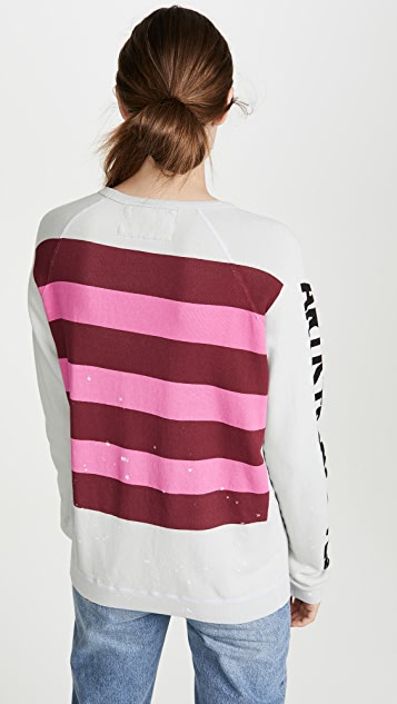 FREECITY Hockney Strikes Raglan Sweatshirt