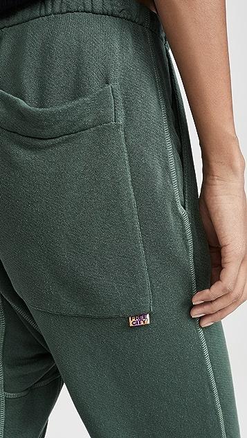 FREECITY Superfluff Pocketlux 运动裤