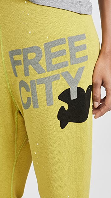 FREECITY Super Fluff OG Splash Sweats