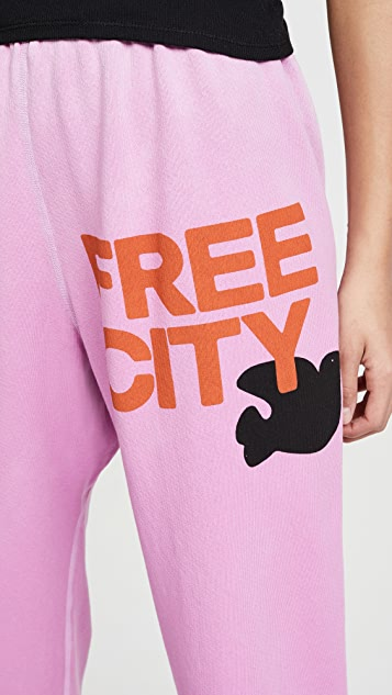 FREECITY Letsgofreecity OG Supervintage 运动裤