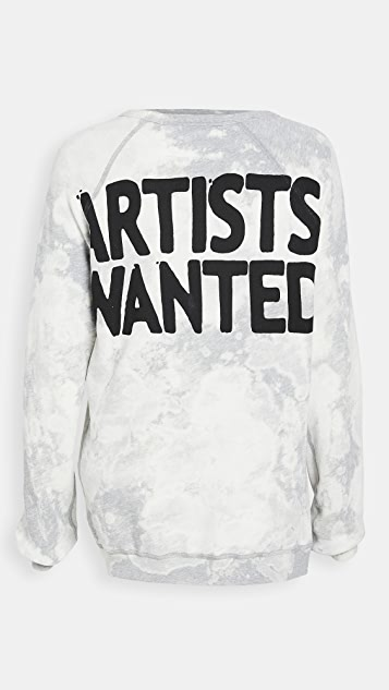 FREECITY Superbleachout Artists Wanted 运动衫