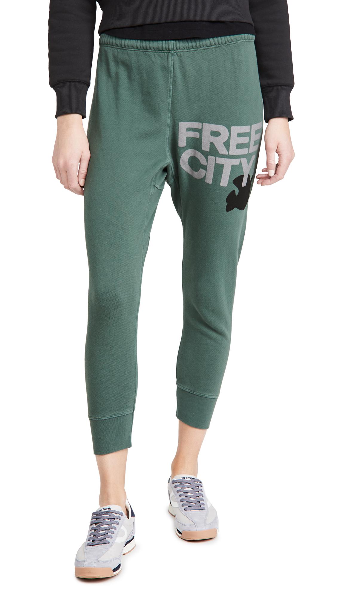 FREECITY Freecity Large 3/4 Sweatpants