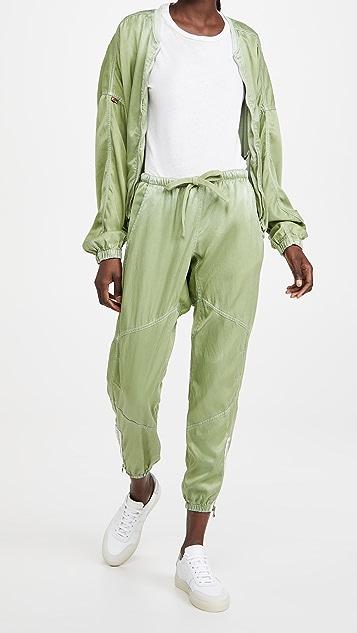 FREECITY Parachute 缎面长裤