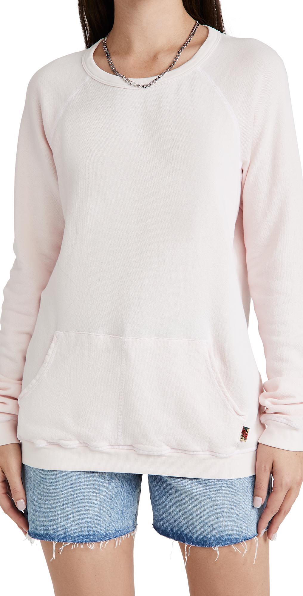Purecolor Pocket Raglan Sweatshirt