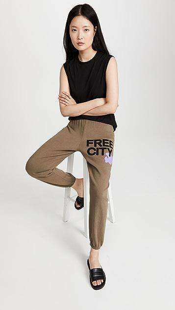 FREECITY Freecity 大号运动裤