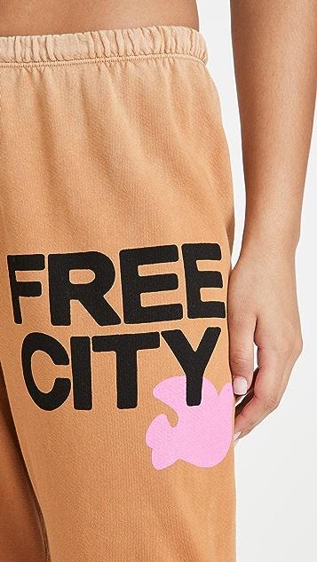 FREECITY Lets Go Free City OG Supervintage 运动裤