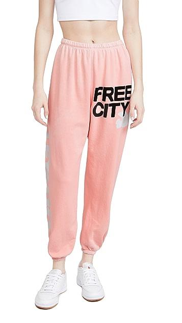 FREECITY Letsgo Freecity OG Supervintage 运动裤