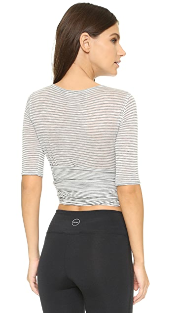 Free People Movement Giselle Wrap Top