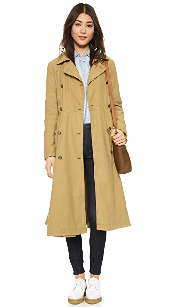 Free People Full Sweep Trench Jacket