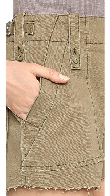 Free People Gunner Shorts