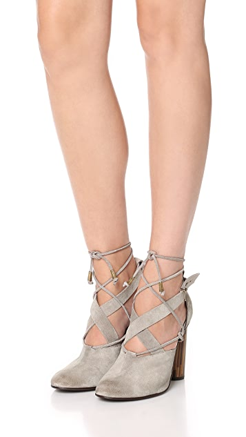 Free People Nouvella Wrap Pumps