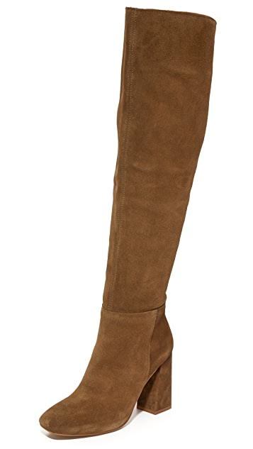 dce9fa9c9cb83f Free People Liberty Over the Knee Boots