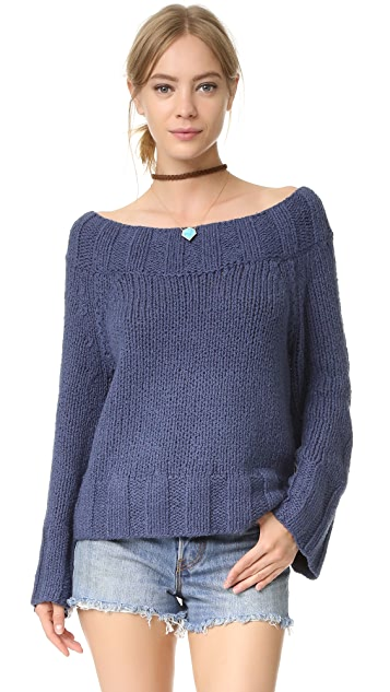 Free People Beachy Slouchy Pullover Sweater | SHOPBOP