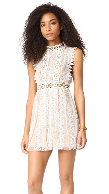 Free People Forever Lace Babydoll Dress