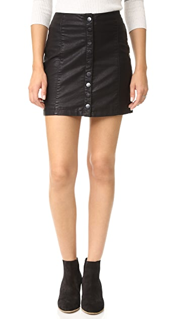 6ee4b231e Free People Oh Snap Vegan Leather Miniskirt | SHOPBOP