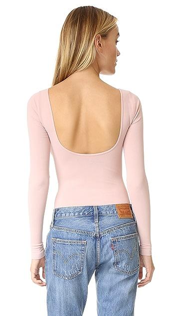 369e17f4b735 Free People Seamless Low Back Bodysuit