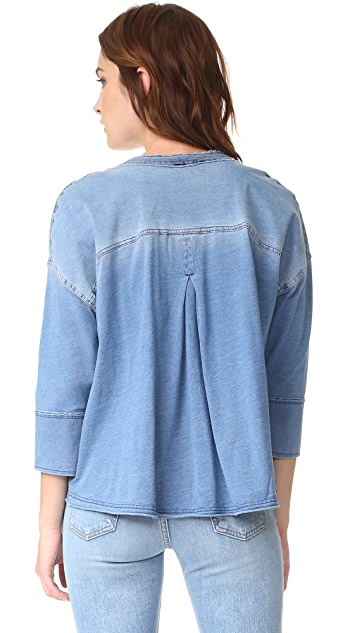 Free People Ratio Top