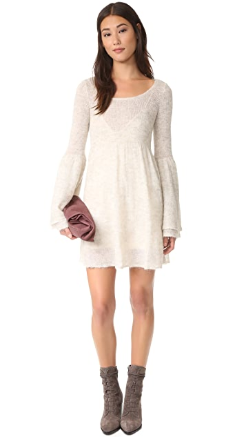 Free People Juliet Babydoll Sweater Dress