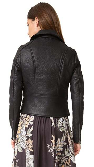 Free People Soho Vegan Leather Jacket