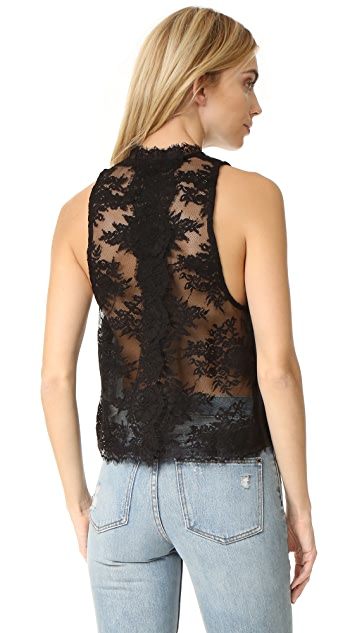 Free People Tied To You Lace Top