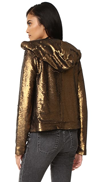 Find sequin hooded jacket at ShopStyle. Shop the latest collection of sequin hooded jacket from the most popular stores - all in one place.