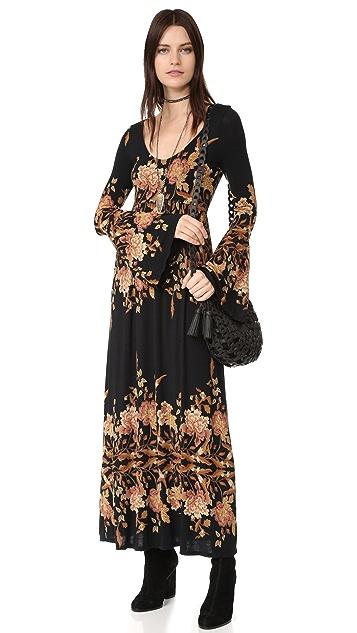 Free People Midnight Garden Maxi Dress