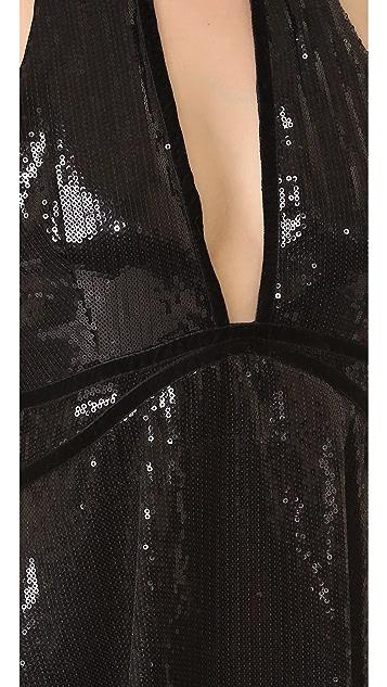 Free People Film Noir Mini Dress