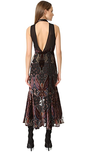 Free People Hands to Hold Burnout Maxi Dress