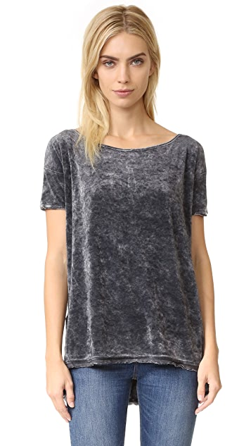 Free People Velvet Doran Washed Tee
