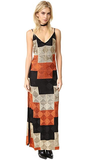 Free People Deco Dreams Embroidered Maxi   SHOPBOP