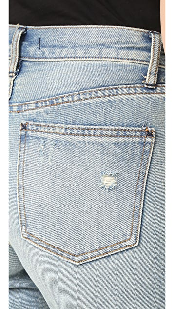 Free People Destroyed Syxx Boyfriend Jeans