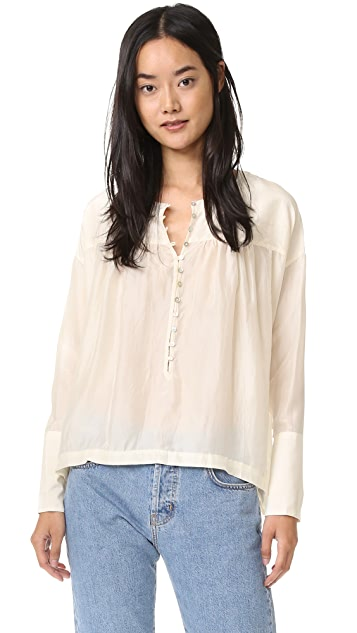 Free People Live to Tell Blouse