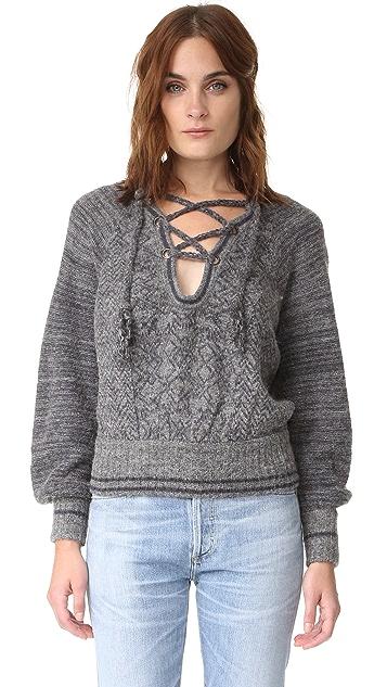 Free People Hoops & Hollas Sweater