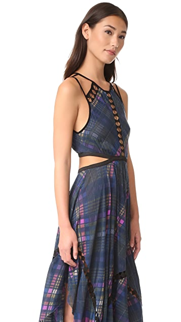 Free People Glassow Printed Dress