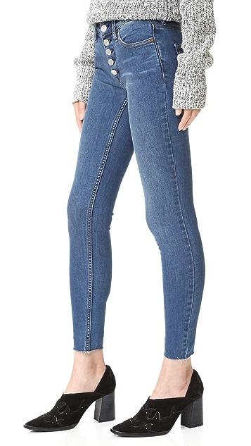 Free People Reagan Raw Edge Jeans