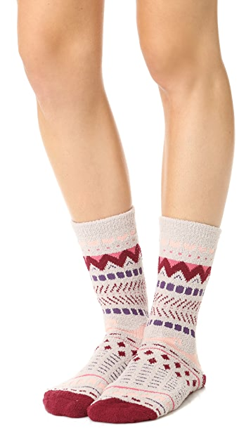 Free People Making Waves Slipper Socks