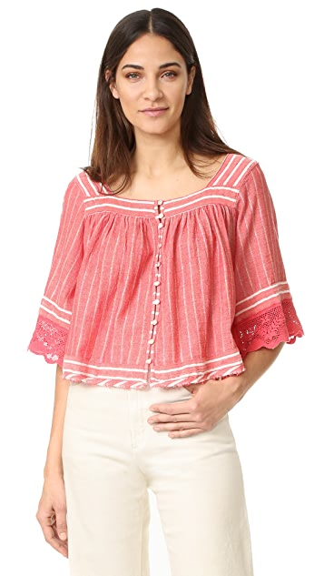 Free People See Saw Top