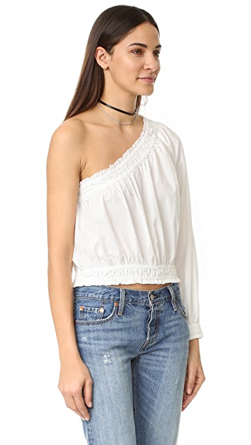 Free People Annabelle Asymmetrical Top