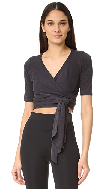 Free People Movement Sacred Wrap Top