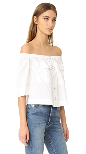 Free People Head Over Heels Blouse