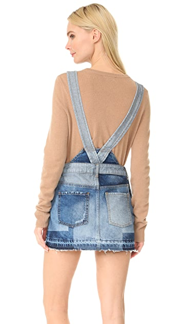 Free People The Patchwork Jumper Dress