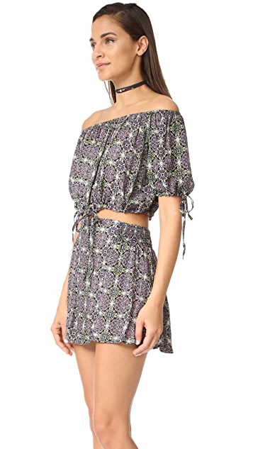 Free People Electric Love Printed Set