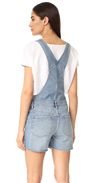 Free People Relaxed Boyfriend Overalls