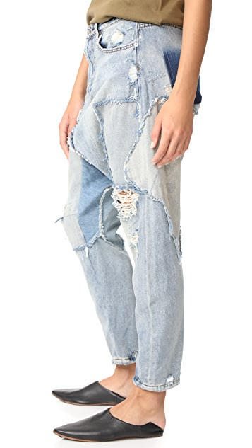 Free People Blazing Summer Harem Jeans