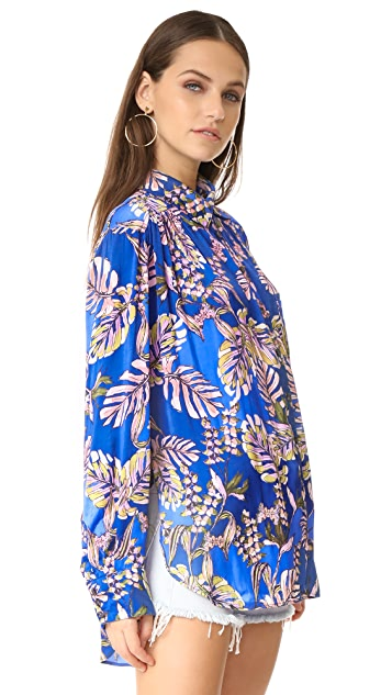 Free People Under the Palms Shirt