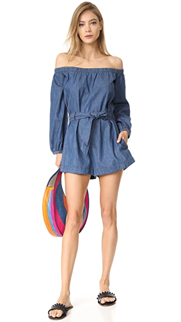 Free People Tangled In Willows Romper