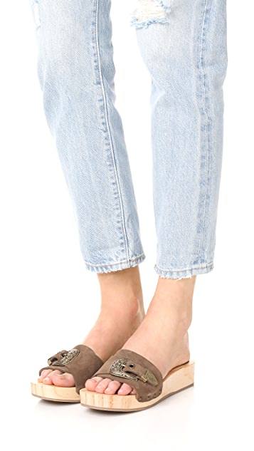Free People Westtown Slide Clogs