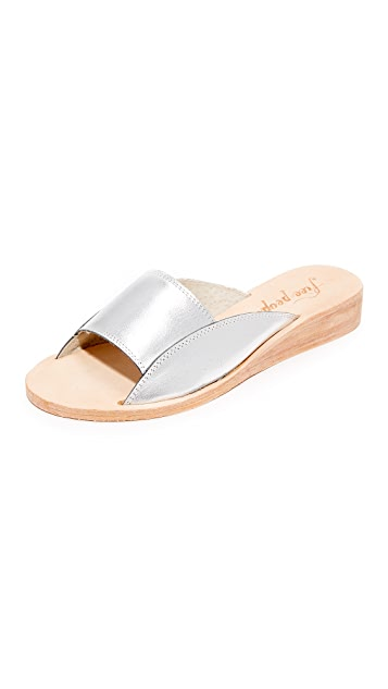 Free People Daybird Mini Wedge Slides