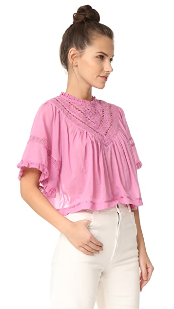 Free People Lush Life Top